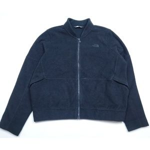 The North Face Heavyweight Wool Like Zip Up Jacket